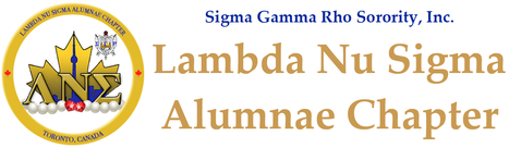 SIGMA GAMMA RHO SORORITY, INC. LAMBDA NU SIGMA CHAPTER